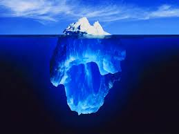 conscious and unconscious mind like an iceberg